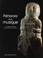 Couverture Préhistoire de la musique.
