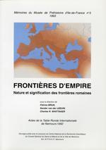 Couverture Frontières d'empire.