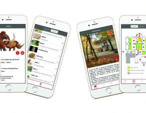 Application mobile de visite du musée.