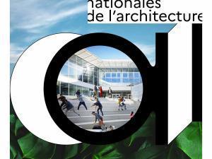 """Affiche de la manifestation nationale """"Les journées nationales de l'architecture"""""""