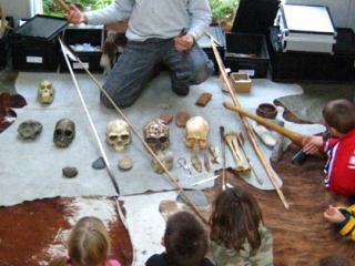Atelier d'animations pour les enfants.