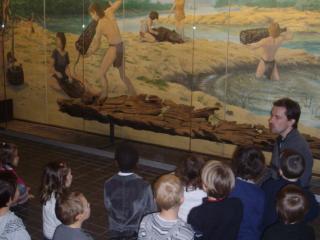 Visite scolaire au musée