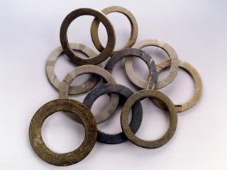 Les bracelets après restauration.