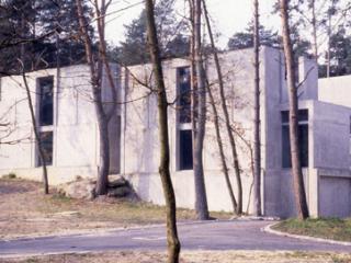 Le musée à l'époque de sa construction.
