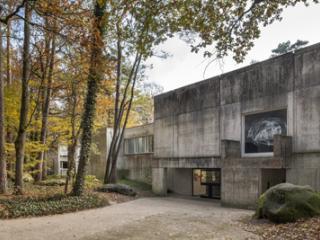Vue de l'entrée du musée.