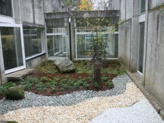 Un des patios du musée.