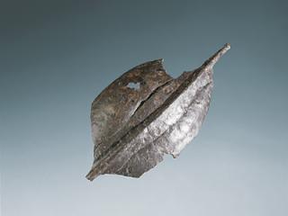 Umbo de bouclier, en fer. Inhumation n° 32. Long. 21,7 cm. Fin IVe – début IIIe siècle avant J.-C.