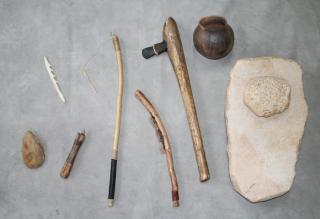 Fac-similés d'objets préhistoriques