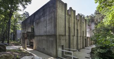 Vue extérieur du musée