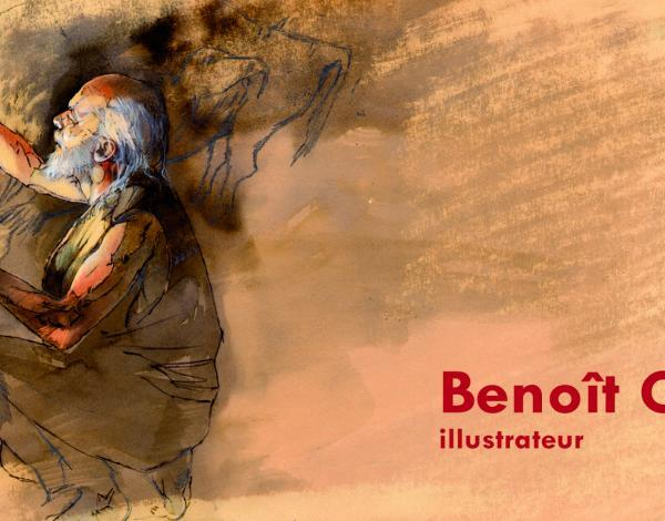 Bannière exposition Benoit Clarys, illustrateur