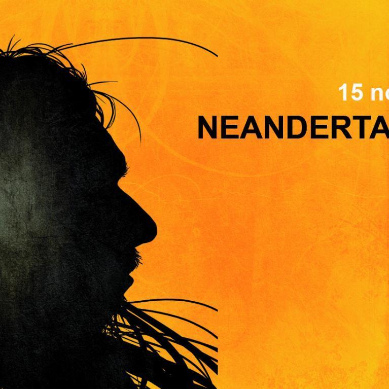 Bannière exposition Neandertal, l'Européen