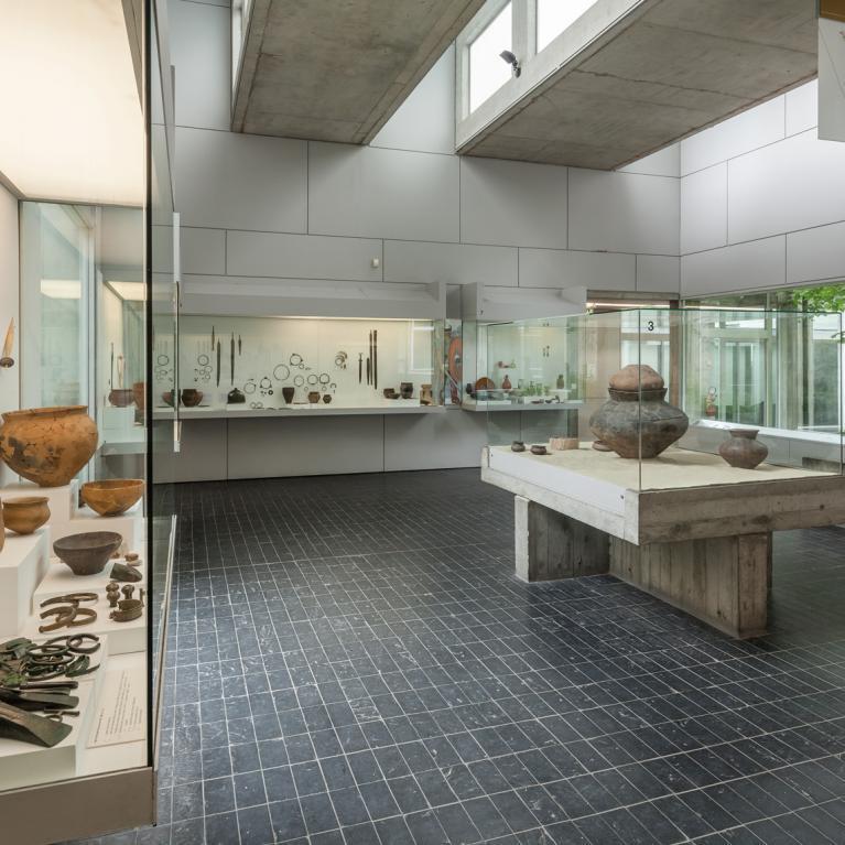 Salle 7 du musée consacrée aux âges des Métaux