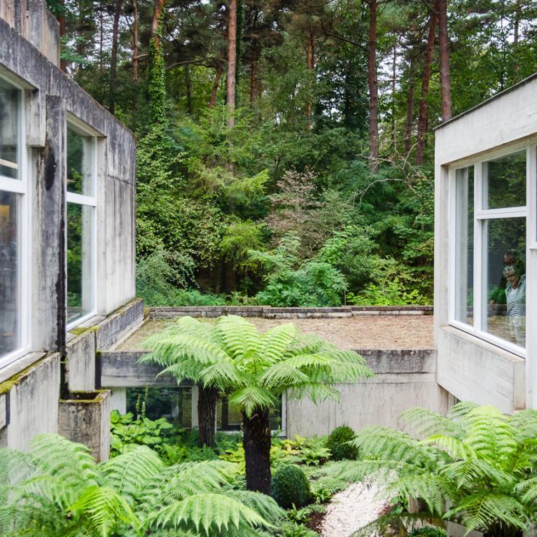 Jardins intérieurs.
