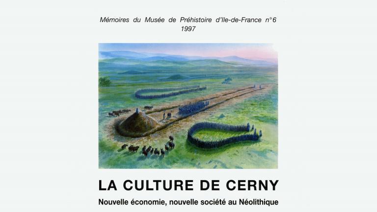 Couverture d'une publication parue suite à un colloque scientifique tenu à Nemours en 1997