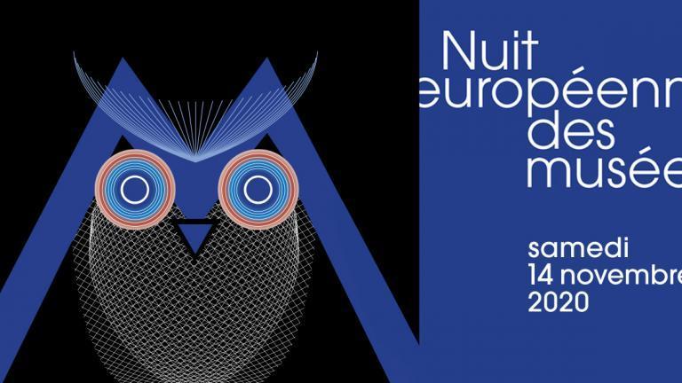 Visuel de la Nuit européenne des musées 2020