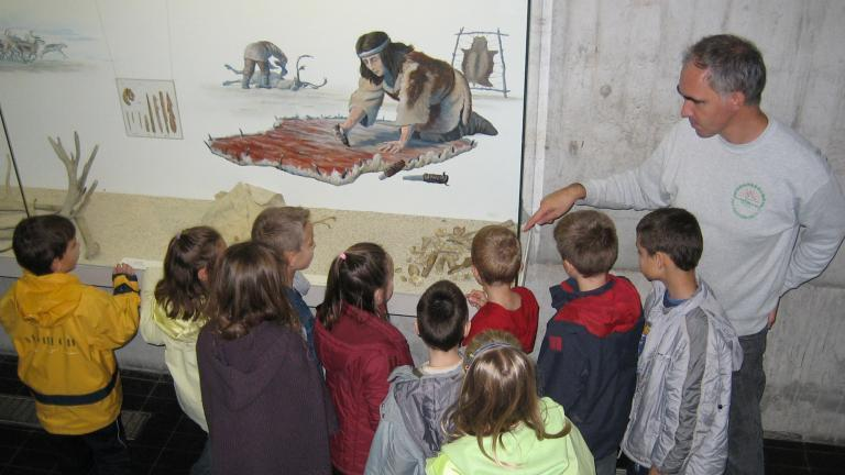 Visite guidée du musée pour des enfants