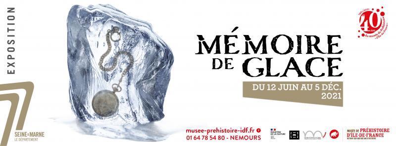"""visuel de l'exposition """"Mémoire de glace"""""""
