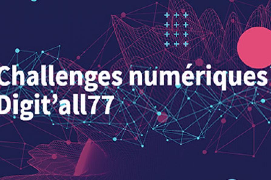 """visuel du concours """"challenges numériques"""""""
