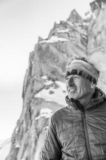 photographie du glaciologue Luc Moreau